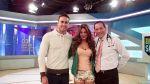 [FOTOS] Los guerreros enamorados Gino Assereto y Jazmín Pinedo estuvieron con Doctor TV - Noticias de gino pessarezi