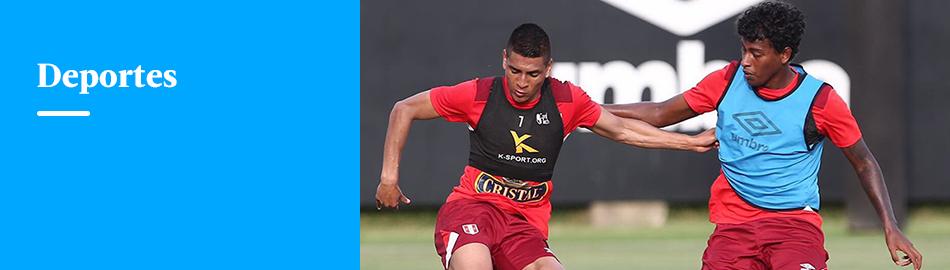 Gareca probó a Miguel Araujo en la defensa pensando en Uruguay
