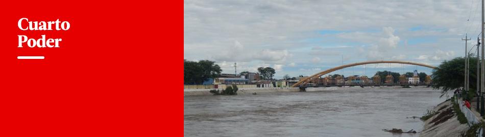 Piura en emergencia: río arrasa todo a su paso