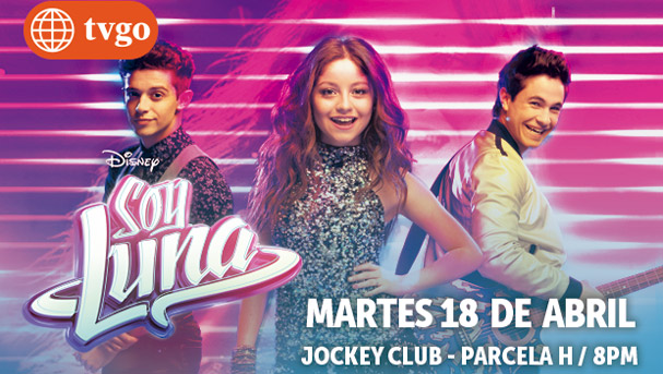 América tvGO te regala una entrada doble al concierto y meet and greet de Soy Luna