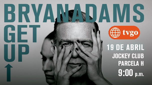 América tvGO regala cuatro entradas para el concierto y meet and greet de Bryan Adams