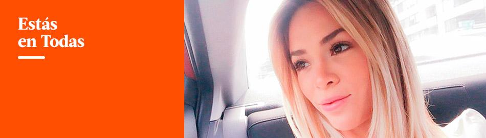 Sheyla Rojas se presentó con radical cambio de look