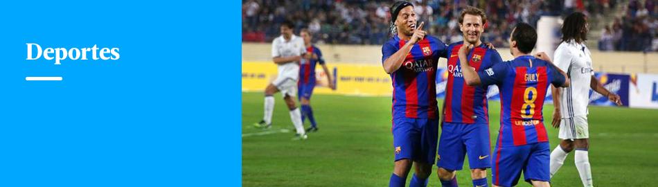 Ronaldinho volvió al Barcelona e hizo estos lujos contra Real Madrid
