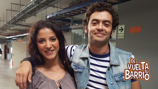 Luciana Blomberg y Fernando Luque en América Live
