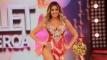 El gran show: Milet Figueroa ratificó ser hincha de Universitario - Noticias de milet figueroa