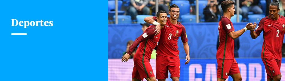 Portugal goleó 4-0 a Nueva Zelanda y avanzó a 'semis' de Confederaciones