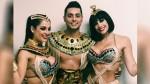 El gran show: Milett Figueroa se convirtió en una sexy Cleopatra - Noticias de andrea luna