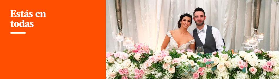 Sully Sáenz y Evan Piccolotto se casaron y así fue su boda