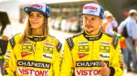 Mario Hart: ¿Korina Rivadeneira acompañará al piloto en su última carrera? - Noticias de gustavo espinoza