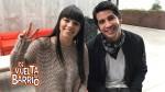 """DVAB: """"Estela"""" y """"Beto"""" revelan detalles de su romance en América Live - Noticias de de vuelta al barrio"""